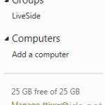 Windows Live SkyDrive Wave 5 16.3.3340.215