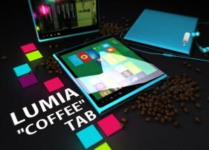 Концепт планшета Nokia Lumia Coffee Tab на Windows 8