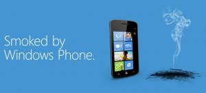 Рекламная кампания Smoked by Windows Phone перебирается в интернет