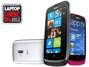 Nokia Lumia 610 выграла два приза на Mobile World Congress