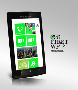 WP-смартфон от Sony