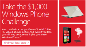 Microsoft проведёт в своих магазинах состязания Smoked By Windows Phone
