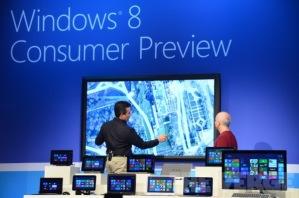 Microsoft демонстрирует планшетники с Windows 8 на основе архитектуры ARM
