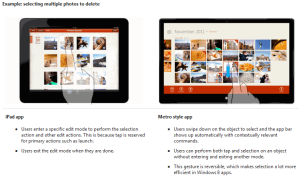 Чем Windows 8 отличается от iPad?