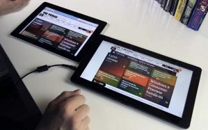 Сравнение планшетника на Windows 8 и iPad