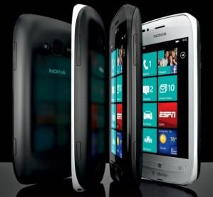 Nokia Lumia 710 заняла третье среди самых продаваемых смартфонов T-Mobile в США