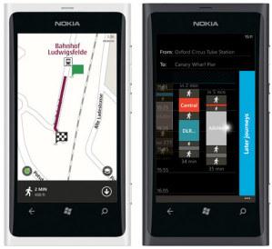 Обновлённые версии Nokia Drive, Maps и Transport