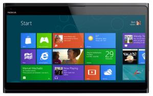 Планшет Nokia на базе Windows 8 появится в 4 квартале 2012