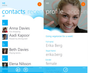 Официальная версия Skype для Windows Phone