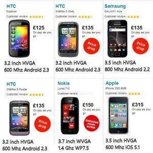Vodafone снижает цену на Nokia Lumia 710 до 150 фунтов
