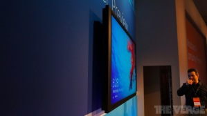 Windows 8 на 82-дюймовом сенсорном экране