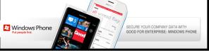 Microsoft и Good Technology работают над сервисом шифрования мобильной почты