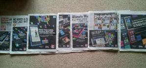 Реклама Nokia Lumia 800 в газете The Sun