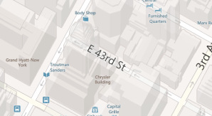 Трёхмерные карты Bing