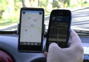 Видеосравнение HTC Locations и Nokia Drive