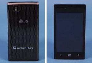 Утекли фотографии винфона LG LS831