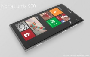 Концепт четырёхъядерного WP-смартфона Nokia Lumia 920