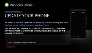 Вышло первое обновление для Nokia Lumia 900