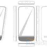 Nokia патентует дизайн нового WP-смартфона