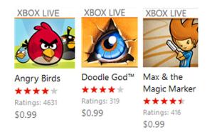 Цены на игры Xbox Live снижены