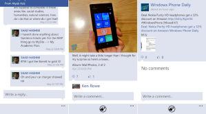 Обновление приложения Facebook 2.5 появилось в маркете