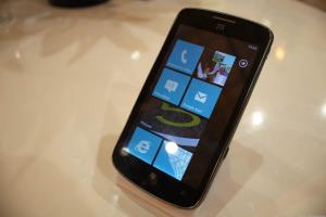 Смартфон ZTE Tania, доступный только в Азии и Британии.