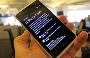 Режим экономии заряда в Nokia Lumia 900