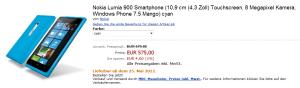 Смартфон Nokia Lumia 900 доступен для предзаказа на немецком Amazon