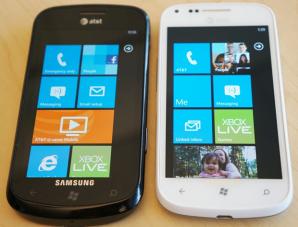 Сравнение характеристик Samsung Focus и Samsung Focus 2