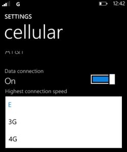LTE на Nokia Lumia 900 слишком быстро разряжает батарею? Используйте EDGE