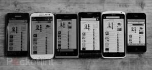 Тестирование экранов смартфонов при ярком солнечном свете