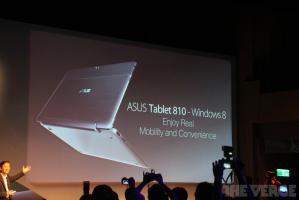 Компания Asus продемонстрировала 11,6-дюймовый планшет Tablet 810 с процессором Intel Atom на Windows 8