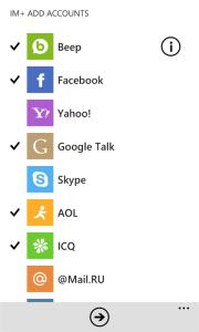 Приложение IM+ вновь поддерживает MSNLive Messenger