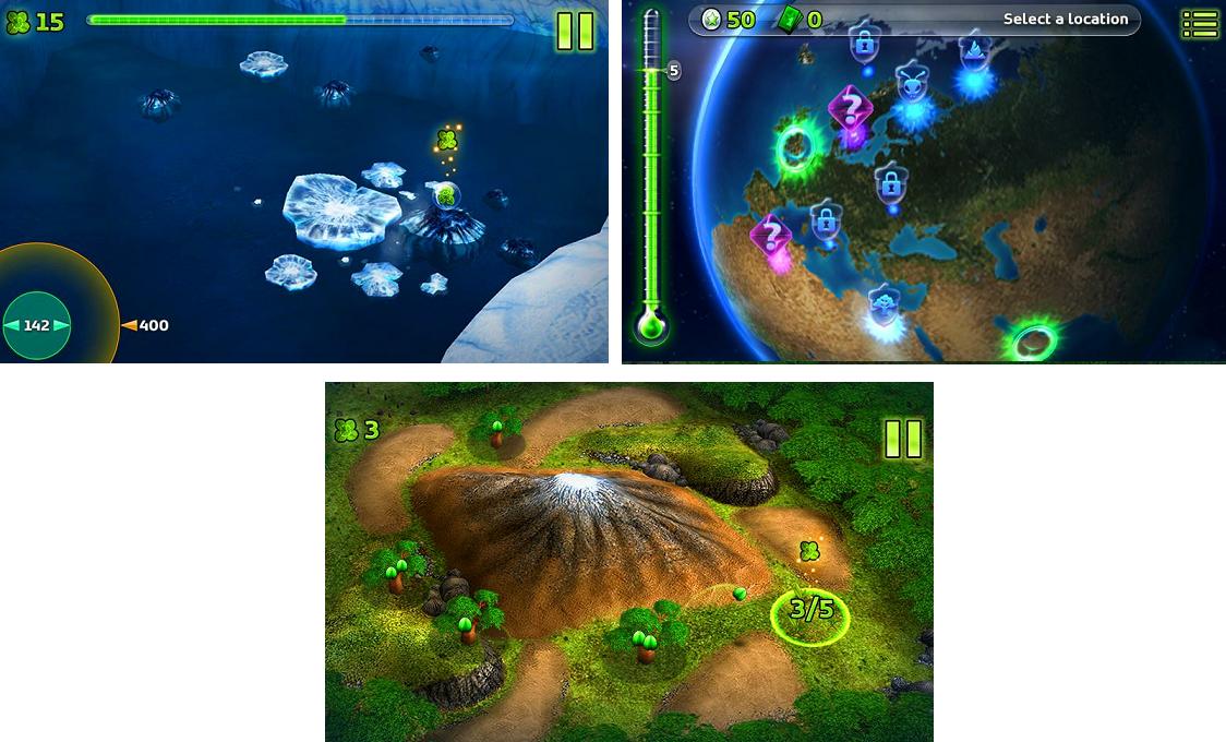 Nokia Climate Mission - Скачать бесплатно Nokia Climate Mission для Symbian OS в категории Игры