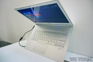 Компания Acer продемонстировала ультрабуки с сенсорым экраном Aspire S7 на Windows 8