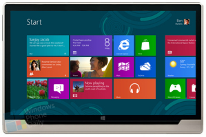 Концепт планшета от Microsoft