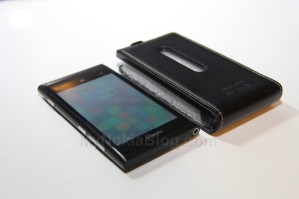Чехол-книжка Luxury Alpha для Nokia Lumia 800