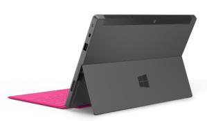 Свойства камеры в планшете Microsoft Surface