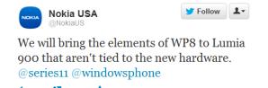 Мы перенесём на Lumia 900 те возможности WP8, которые не завязаны на железо.