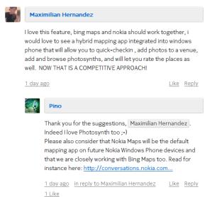 Карты Nokia станут картами по умолчанию для смартфонов Lumia?