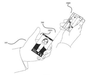 Microsoft патентует концепт WP-смартфона с двумя экранами