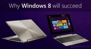 Почему планшеты на Windows 8 будут пользоваться спросом