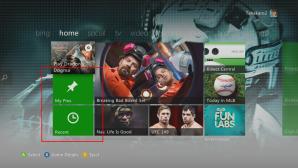 На главном экране стало больше плиток. Как для рекламных целей и информирования пользователя о новых поступлениях игр, так и для юзеров появились 2 кнопки: My Pins и Recent