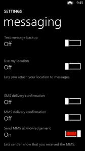 Настройка для создания бекапов текстовых сообщений
