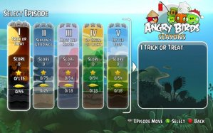 Angry Birds Trilogy Episodes