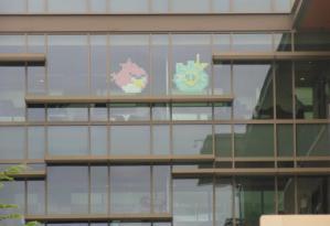 Angry Birds на окне