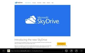 В маркете Windows 8 появился ещё один клиент SkyDrive