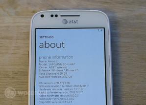 Некоторые из незадокументированных возможностей Windows Phone Tango