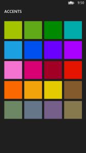 Настройка цветовой темы