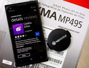 Вышло приложение Nokia Camera Extras